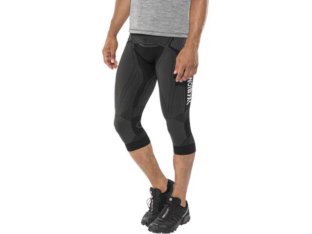 X-Bionic The Trick Hardloop Shorts Heren grijs/zwart